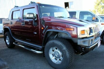 2006 Hummer H2 SUT Metallic Red 4 Speed Automatic Utility Glanmire Gympie Area Preview