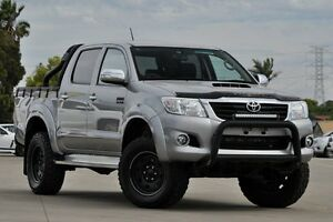 2015 Toyota Hilux KUN26R MY14 SR5 (4x4) Grey 5 Speed Automatic Dual Cab Pick-up Greenacre Bankstown Area Preview