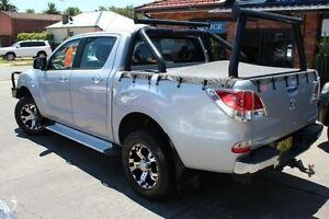 2013 Mazda BT-50 MY13 GT (4x4) Silver 6 Speed Manual Dual Cab Utility Hamilton Newcastle Area Preview