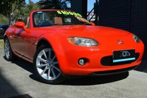 2005 Mazda MX-5 NC30F1 Red 6 Speed Manual Softtop Ashmore Gold Coast City Preview