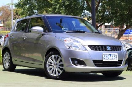 2013 Suzuki Swift FZ RE2 Grey 4 Speed Automatic Hatchback