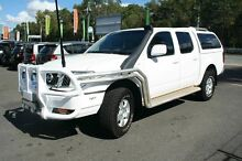 2011 Nissan Navara D40 ST (4x4) White 5 Speed Automatic Dual Cab Pick-up Birkdale Redland Area Preview