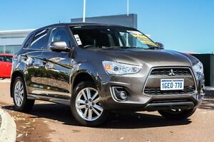2013 Mitsubishi ASX XB MY14 Aspire 2WD Brown 6 Speed Constant Variable Wagon East Rockingham Rockingham Area Preview