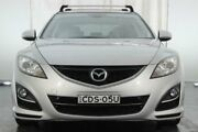 2011 Mazda 6 GH1052 MY12 Touring Silver 5 Speed Sports Automatic Hatchback Maryville Newcastle Area Preview