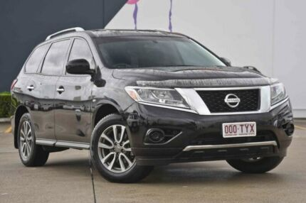 2013 Nissan Pathfinder R52 MY14 ST X-tronic 2WD Black 1 Speed Constant Variable Wagon Rothwell Redcliffe Area Preview