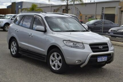 2008 Hyundai Santa Fe CM MY08 Elite Silver 5 Speed Sports Automatic Wagon Wangara Wanneroo Area Preview