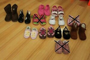 Various Brand of Baby to Toddler Shoes/ Sandals