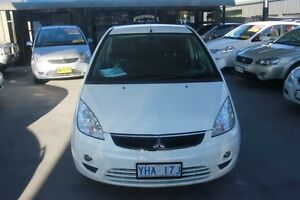 2009 Mitsubishi Colt RG MY08 VR-X White 5 Speed Manual Hatchback Mitchell Gungahlin Area Preview
