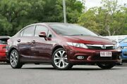 2012 Honda Civic 9th Gen Sport Red 5 Speed Sports Automatic Sedan Indooroopilly Brisbane South West Preview