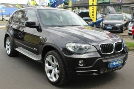 2009 BMW X5 E70 MY09 xDrive30d Steptronic Executive Black 6 Speed Sports Automatic Wagon