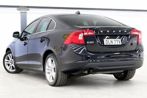 2012 Volvo S60 F Series MY12 D3 Geartronic Black 6 Speed Sports Automatic Sedan Seven Hills Blacktown Area Preview