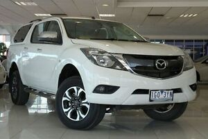 2015 Mazda BT-50 UR0YF1 XTR 4x2 Hi-Rider White 6 Speed Sports Automatic Utility Dandenong Greater Dandenong Preview