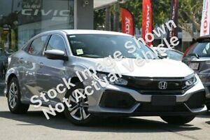 2019 Honda Civic 10th Gen MY18 VTi Silver 1 Speed Constant Variable Hatchback Ravenhall Melton Area Preview