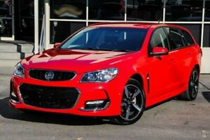 2017 Holden Commodore VF II MY17 SV6 Sportwagon Red 6 Speed Sports Automatic Wagon Dandenong Greater Dandenong Preview