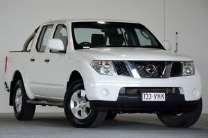 2014 Nissan Navara D40 RX Silverline SE (4x4) White 6 Speed Manual Dual Cab Pick-up Coopers Plains Brisbane South West Preview