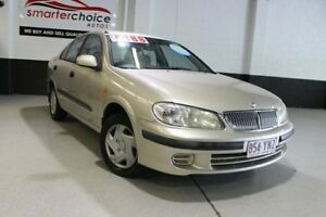 2002 Nissan Pulsar N16 ST Gold 4 Speed Automatic Sedan