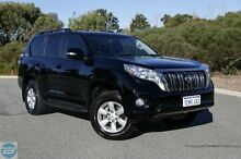 2014 Toyota Landcruiser Prado KDJ150R MY14 GXL (4x4) Black 5 Speed Sequential Auto Wagon Hillman Rockingham Area Preview
