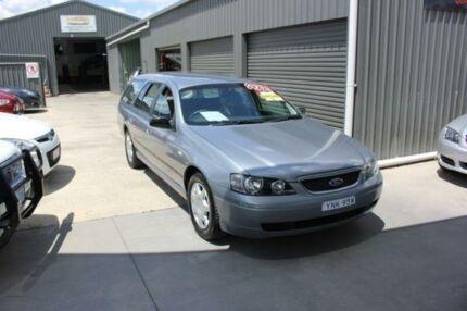 2004 Ford Falcon BA XT Silver 4 Speed Auto Seq Sportshift Wagon Mitchell Gungahlin Area Preview