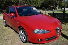 2007 Alfa Romeo 147 Facelift 2.0 Twin Spark Red 5 Speed Manual Hatchback Homebush Strathfield Area Preview