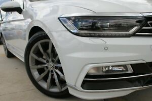2016 Volkswagen Passat 3C (B8) MY17 140TDI DSG Highline White 6 Speed Sports Automatic Dual Clutch