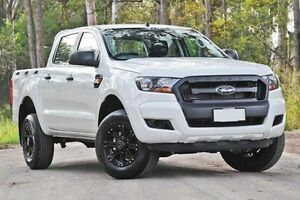 2015 Ford Ranger PX MkII 4x4 XL Double Cab Pickup 2.2L Cool White Automatic Utility Capalaba West Brisbane South East Preview