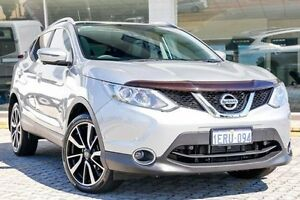 2015 Nissan Qashqai J11 TI Silver 1 Speed Constant Variable Wagon St James Victoria Park Area Preview
