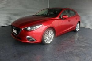 2014 Mazda 3 BM5438 SP25 SKYACTIV-Drive Red 6 Speed Sports Automatic Hatchback Parramatta Park Cairns City Preview