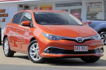 2015 Toyota Corolla ZRE182R Ascent Sport S-CVT Inferno Orange 7 Speed Constant Variable Hatchback