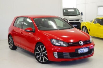 2011 Volkswagen Golf VI MY11 GTI DSG Adidas Red 6 Speed Sports Automatic Dual Clutch Hatchback Myaree Melville Area Preview