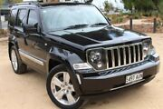 2012 Jeep Cherokee KK MY12 Limited Black 4 Speed Automatic Wagon Thebarton West Torrens Area Preview