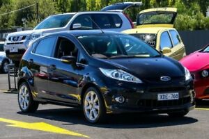 2009 Ford Fiesta WS Zetec Black 4 Speed Automatic Hatchback Ringwood East Maroondah Area Preview