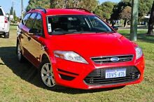 2011 Ford Mondeo MC LX PwrShift TDCi Red 6 Speed Sports Automatic Dual Clutch Wagon East Rockingham Rockingham Area Preview