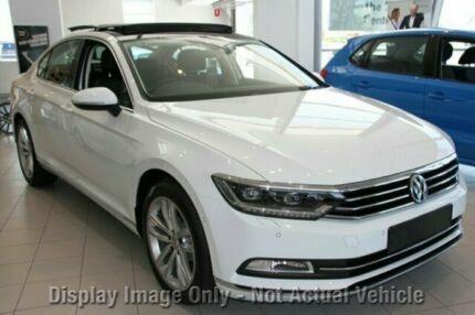 2016 Volkswagen Passat 3C MY17 140 TDI Highline Pure White 6 Speed Direct Shift Sedan