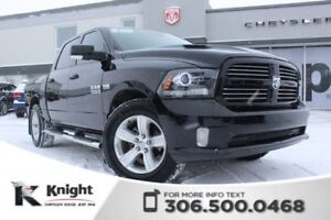 2013 Ram 1500 Sport - Remote Start - Heated/Cooled Leather Seats
