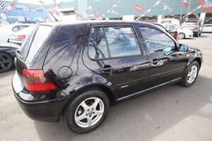 2000 Volkswagen Golf 4TH GEN Rally GL Black 4 Speed Automatic Hatchback Kingsville Maribyrnong Area Preview