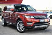 2014 Land Rover Range Rover Sport L494 MY14.5 SDV6 CommandShift HSE Red 8 Speed Sports Automatic Bayswater Bayswater Area Preview