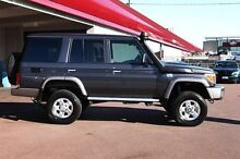 2015 Toyota Landcruiser VDJ76R GXL Grey 5 Speed Manual Wagon Northbridge Perth City Preview