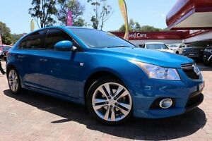 2013 Holden Cruze JH MY14 SRi V Blue 6 Speed Manual Hatchback Campbelltown Campbelltown Area Preview