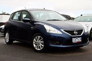 2015 Nissan Pulsar C12 Series 2 ST Blue 1 Speed Constant Variable Hatchback Nunawading Whitehorse Area Preview