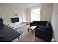 STUDENTS 17/18: Bright 5 bedroom HMO flat near Edinburgh Uni available September - NO FEES!