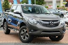 2015 Mazda BT-50 UR0YF1 XTR Red 6 Speed Manual Utility Mount Gambier Grant Area Preview