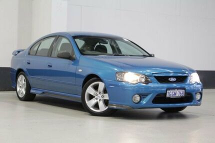 2008 Ford Falcon BF MkII 07 Upgrade XR6 Blue 4 Speed Auto Seq Sportshift Sedan Bentley Canning Area Preview
