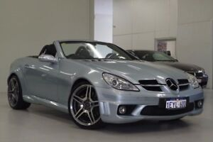 2006 Mercedes-Benz SLK350 R171 MY06 Silver 7 Speed Automatic Roadster Myaree Melville Area Preview