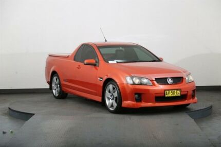2007 Holden Commodore VE SS-V Orange 6 Speed Manual Utility Smithfield Parramatta Area Preview