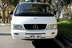 2002 Mercedes-Benz MB100 MB100 White 5 Speed Manual Van Underdale West Torrens Area Preview