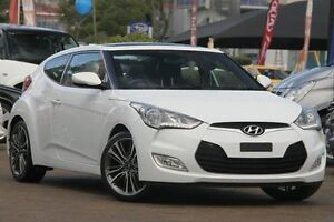 2015 Hyundai Veloster FS3 + White 6 Speed Auto Dual Clutch Coupe Zetland Inner Sydney Preview