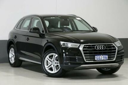 2017 Audi Q5 FY MY17 2.0 TDI Quattro Design Mythos Black 7 Speed Auto S-Tronic Wagon Bentley Canning Area Preview