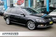 2013 Volkswagen Passat Type 3C MY13 125TDI DSG Highline Black 6 Speed Sports Automatic Dual Clutch Brookvale Manly Area Preview