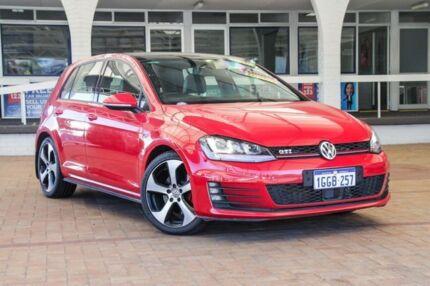 2014 Volkswagen Golf VII MY15 GTI DSG Red 6 Speed Sports Automatic Dual Clutch Hatchback