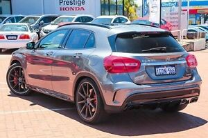 2015 Mercedes-Benz GLA 45 AMG 4MATIC X156 805+055MY AMG SPEEDSHIFT DCT 4MATIC Grey 7 Speed Myaree Melville Area Preview